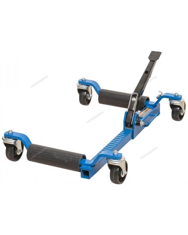 Домкратная подкатная тележка для перемещения авто, г/п 560 кг