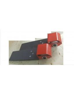 Скейты для погрузки автомобиля на эвакуатор- 2шт.