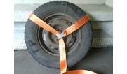 Ремни крепления колес для частичной погрузки. (4)
