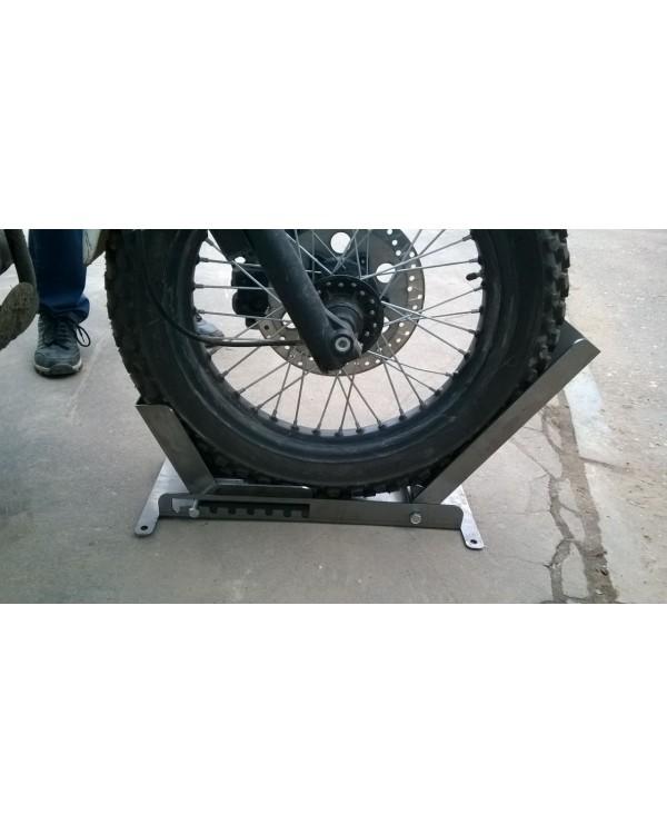 Крепление для перевозки мотоциклов (мото ловушка, фиксатор)