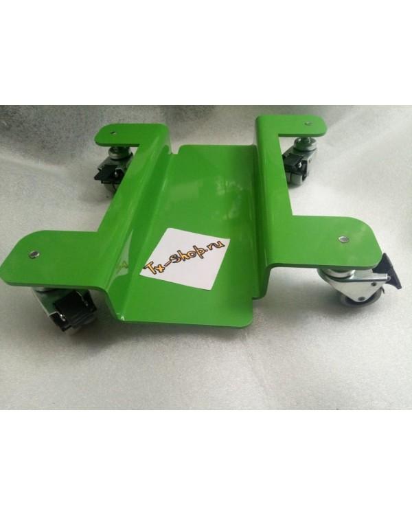 Тележка подкат для мотоцикла без фиксатора колес.