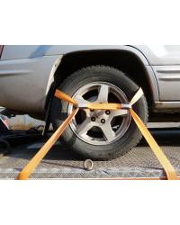 Ремень с перемычкой для крепления колеса.