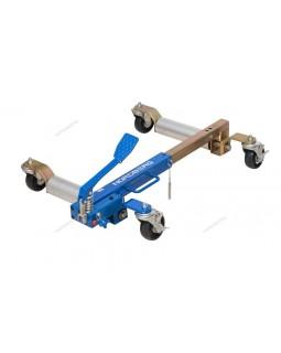 Подкатная тележка с домкратом для перемещения авто, г/п 680 кг